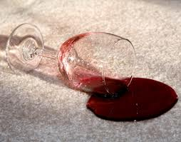 Wine on Carpet